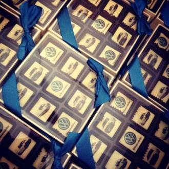 VW chokolade